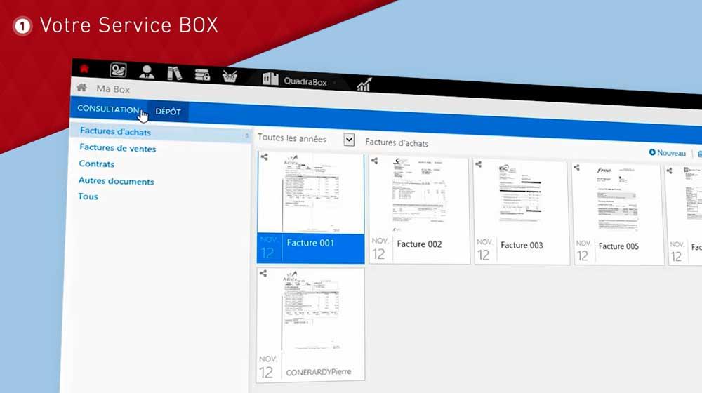 Avec Annexis box, vous disposez d'un espace d'archivage et d'échange avec nos services, parfaitement sécurisé. Tous vos documents y resteront parfaitement classés au fil des ans.